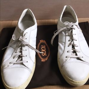 White Tod's Sneakers